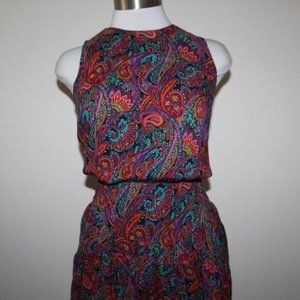 CUTE VINTAGE Romper/ dress sz.7